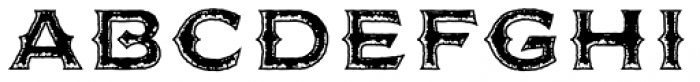 FM Bolyar Rust Two OPro 900 Font UPPERCASE