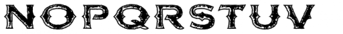 FM Bolyar Rust Two OPro 900 Font LOWERCASE