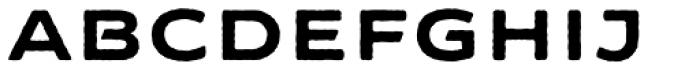 FM Bolyar Sans Pro Rough 800 Font LOWERCASE