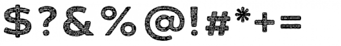 FM Bolyar Sans Pro Woodcut 800 Font OTHER CHARS