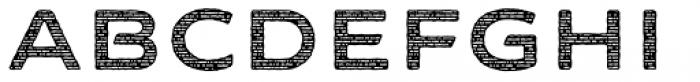 FM Bolyar Sans Pro Woodcut 800 Font UPPERCASE