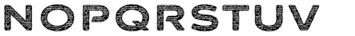 FM Bolyar Sans Pro Woodcut 800 Font LOWERCASE