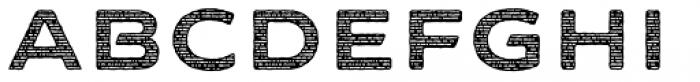 FM Bolyar Sans Pro Woodcut 900 Font UPPERCASE