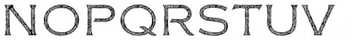 FM Bolyar Woodcut Two NPro 100 Font UPPERCASE