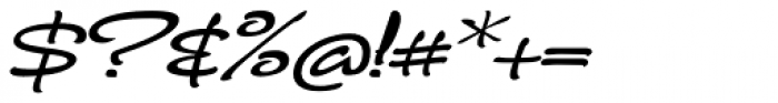 FM Ephire Bold Italic Font OTHER CHARS