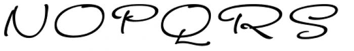 FM Ephire-Book Italic Font UPPERCASE