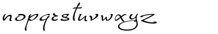 FM Ephire-Book Italic Font LOWERCASE