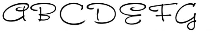 FM Ephire Book Font UPPERCASE