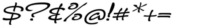 FM Ephire DemiBold Italic Font OTHER CHARS