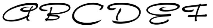 FM Ephire DemiBold Italic Font UPPERCASE