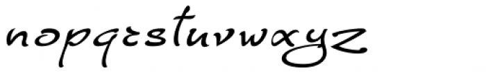 FM Ephire DemiBold Italic Font LOWERCASE