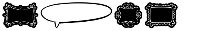 FM Ephire Frames Font OTHER CHARS