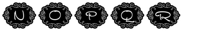 FM Ephire Frames Font UPPERCASE