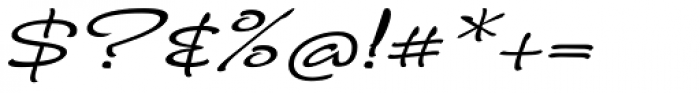 FM Ephire Italic Font OTHER CHARS