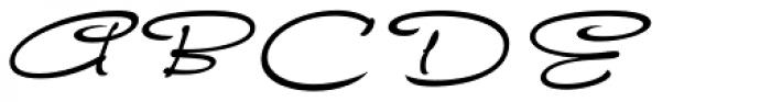 FM Ephire Italic Font UPPERCASE