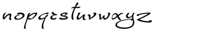 FM Ephire Italic Font LOWERCASE