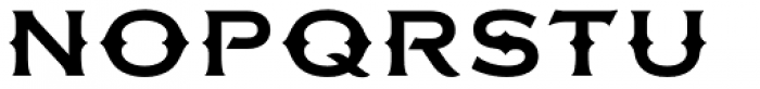 FMBolyar Ornate Pro 700 Font UPPERCASE