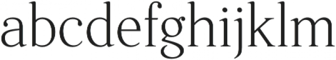Fnord Five otf (400) Font LOWERCASE