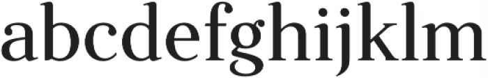 Fnord Forty otf (400) Font LOWERCASE