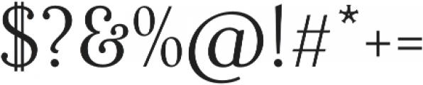 Fnord Twenty-Three otf (400) Font OTHER CHARS