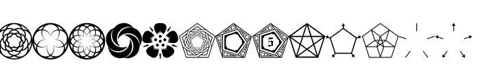 Fnord-Podge Font UPPERCASE
