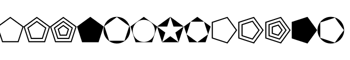 Fnord-Podge Font LOWERCASE