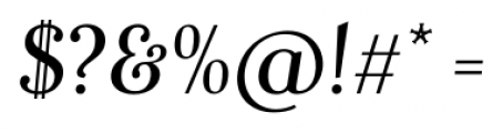 Fnord Forty Italic Font OTHER CHARS