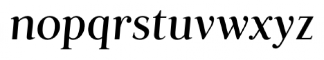Fnord Forty Italic Font LOWERCASE