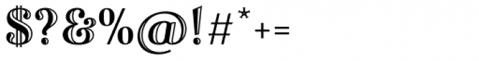 Fnord Engraved Font OTHER CHARS