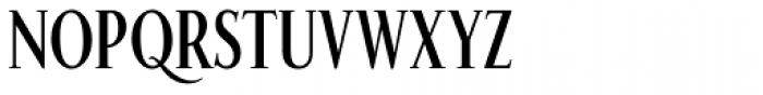 Fnord Forty Condensed Font UPPERCASE
