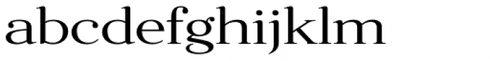 Fnord Forty Extended Font LOWERCASE
