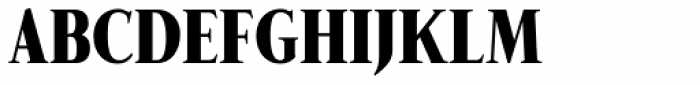 Fnord Ninety Three Condensed Font UPPERCASE