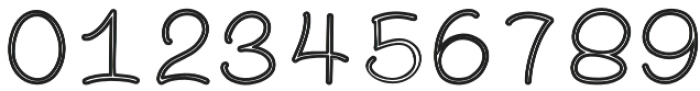 FOONIE Outline otf (400) Font OTHER CHARS