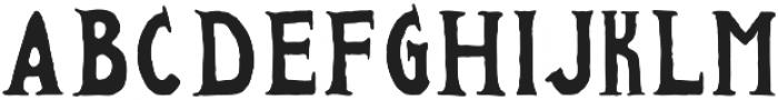 FOUNDFONT BAD POSTCARD otf (400) Font UPPERCASE