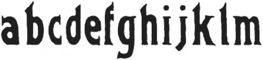 FOUNDFONT BAD POSTCARD otf (400) Font LOWERCASE