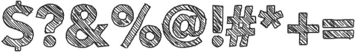 Folktale ttf (400) Font OTHER CHARS