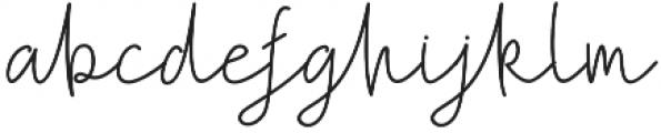 Follback otf (400) Font LOWERCASE