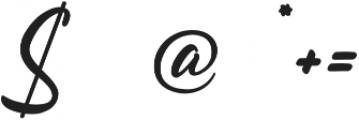 Follow Me ttf (400) Font OTHER CHARS