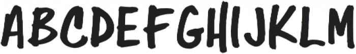 Folsom Prison otf (400) Font LOWERCASE