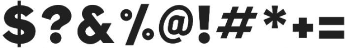 Folsom otf (400) Font OTHER CHARS
