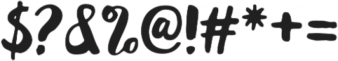 Fonderful otf (400) Font OTHER CHARS