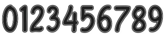 Fondian Outline otf (400) Font OTHER CHARS