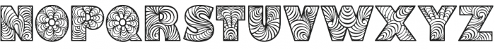 Fonix otf (400) Font UPPERCASE