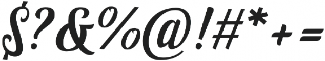 Fonjava otf (400) Font OTHER CHARS