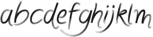Fonjazz otf (400) Font LOWERCASE