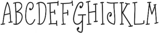 Fonna otf (400) Font UPPERCASE