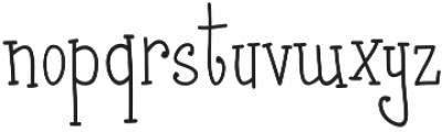 Fonna otf (400) Font LOWERCASE