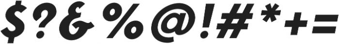 Fonseca Black Oblique otf (900) Font OTHER CHARS