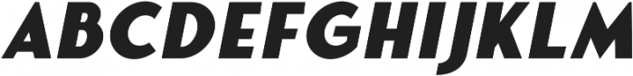 Fonseca Black Oblique otf (900) Font LOWERCASE