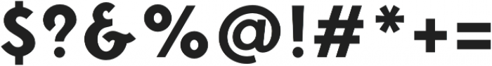 Fonseca ExtraBold otf (700) Font OTHER CHARS